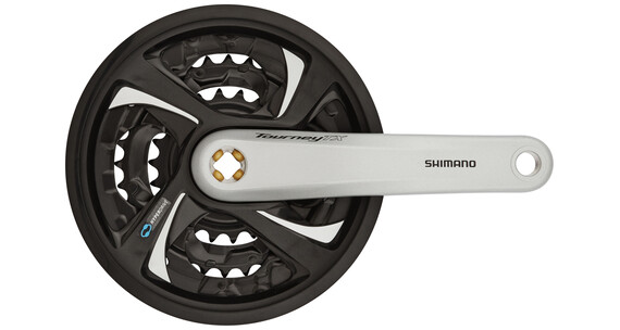 Shimano Tourney TX FC-TX801 Kranksæt 42/32/22 sølv